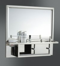 Buy Lavinia Stainless Steel Bathroom Mirror Cabinet by JJ