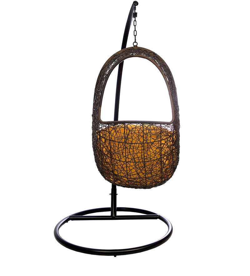 swing chair with stand pepperfry hunting chairs for big men buy juliet without in orange colour by hometown online click to zoom out explore more from furniture