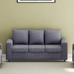 Good Sofa Sets Restoration Hardware Kensington Leather Reviews Buy Kayoto 3 1 Set In Grey Colour By Looking Furniture