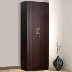 Outdoor Kitchen Drawers Best Floors Buy Kenzou Two Door Wardrobe In Wenge Finish By Mintwud ...