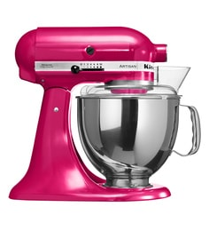 kitchen aid products retro appliances for sale buy kitchenaid dining bar online at 4 8l artisan design tilt head stand mixer raspberry ice 5ksm150psdri free