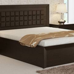 Most Durable Sofa Brands Red Buffalo Check Buy Kosmo Choco Queen Size Bed With Hydraulic Storage In ...