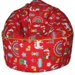 Bean Bag Sofas India Cheap Single Sofa Chair Buy Muddha With Beans In Red Indian Colour By Sattva Online Bags Furniture Pepperfry Product