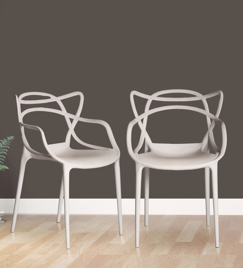 chair design buy desk york andrew multipurpose abstract set of 2 in white colour by parin online plastic chairs furniture pepperfry product