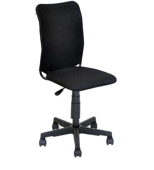 ergonomic chair without arms fishing bedchair 8 leg buy nano office by home online chairs pepperfry