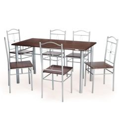 Steel Chair Dining Table Cafe Chairs Metal Nilkamal Figo Set 1 6 By Online We Are Sorry But This Item Is Out Of Stock
