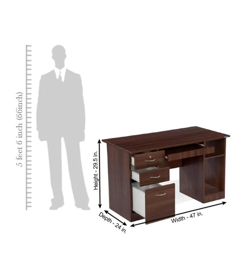 Nilkamal Executive Acacia computer Table by Nilkamal