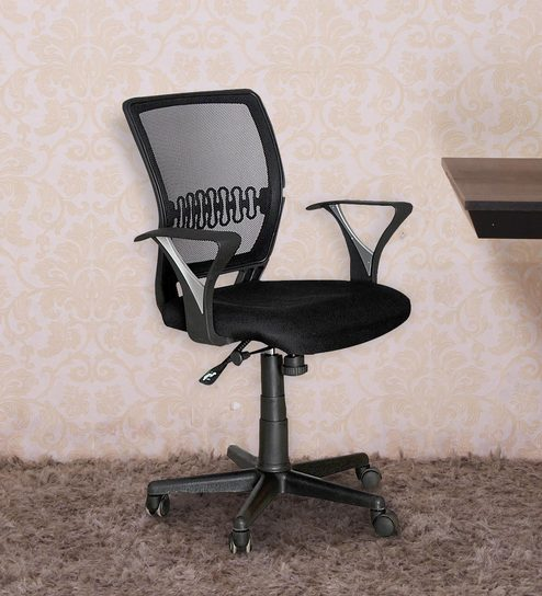 ergonomic chair norway cute bean bag chairs buy in black colour by nilkamal online furniture pepperfry product