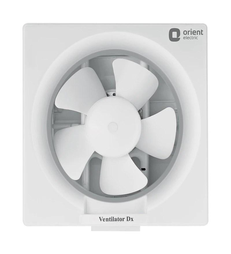 Buy Orient Deluxe White 6 Inch 150 MM Exhaust Fan Online