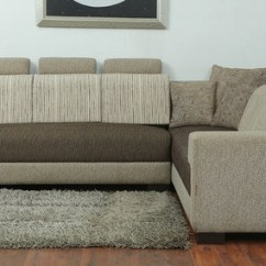 Indian L Shaped Sofa Design California Reviews Buy Pacific Corner Sectional In Designer Fabric Upholstery By Star India
