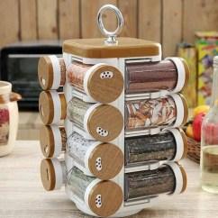 Kitchen Spice Rack Brushed Nickel Lighting Buy Jvs Mate Wood Finish 100 Ml Each Set Of 16