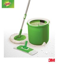 Buy Jumper Spin Mop with Round & Flat Heads & Refill by 3M ...