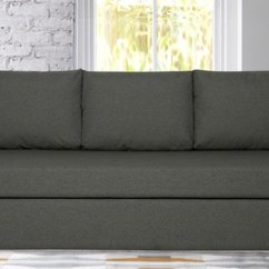 Sofa Gray Color Diy Alternatives Buy Simplo Three Seater Cum Bed In Grey By Vittoria