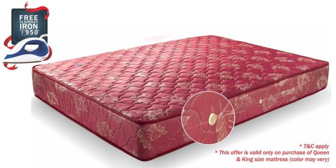 Single 72x48 8 Inch Bonnell Spring Mattress By Amore International