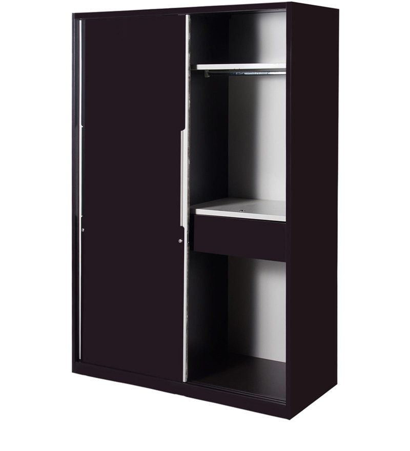 folding chairs in bags contemporary office chair black buy slide n store wardrobe wine red finish by godrej interio online - sliding door wardrobes ...