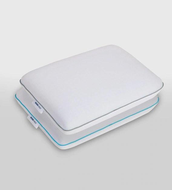 snow cool gel infused memory foam carbon charcoal infused memory foam pillow inserts in white