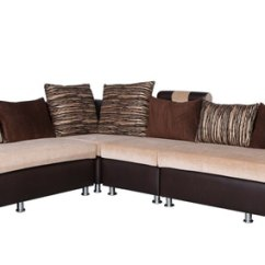 Cushion Sofa Set Leather Sectional Sofas Sale Buy Italia 2 1 Corner With 7 Cushions In Brown
