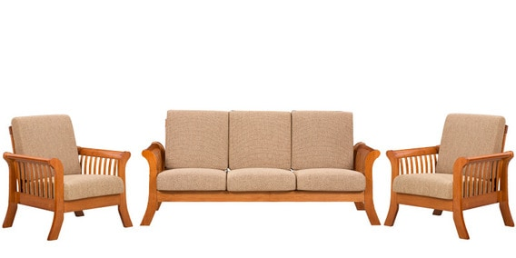 cushion sofa set lazy boy reclining dimensions buy sophia with 3 1 seater by royal oak online sets sofas pepperfry