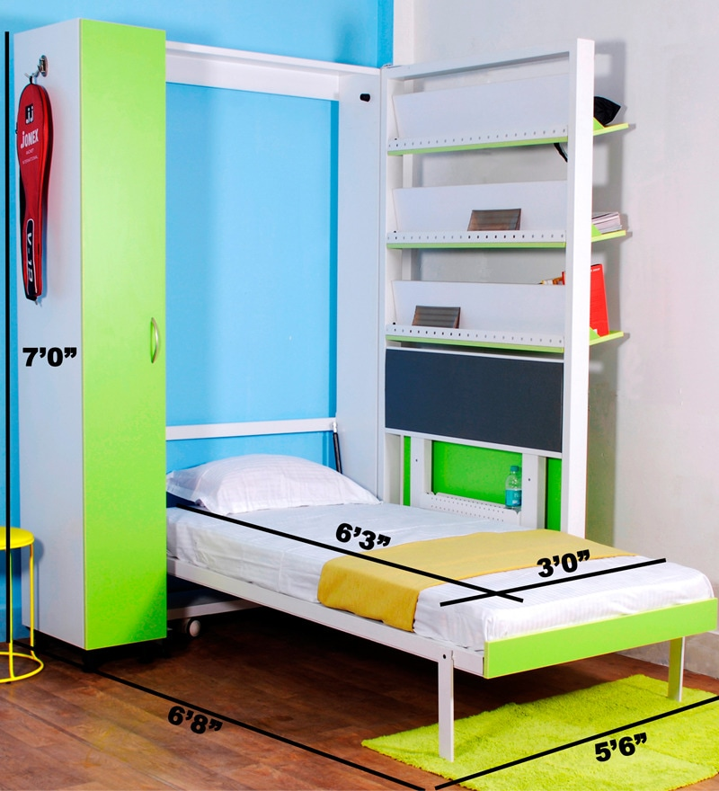 sofa sets online bangalore top rated sleeper buy spaceone vibrant single bed cum book shelf . ...