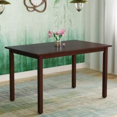 Stella Sofa Table Designer Sofas 4u Review Buy Four Seater Dining In Dark Walnut Finish By Hometown