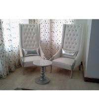 Studded High Back Chair by Phinza Furniture Online - One ...