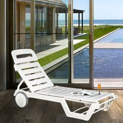 Swing Chair With Stand Pepperfry Bamboo Wing Back Chairs Buy Luxury Sunlounger Wheels In White Colour By Italica Furniture Online Outdoor Loungers Product