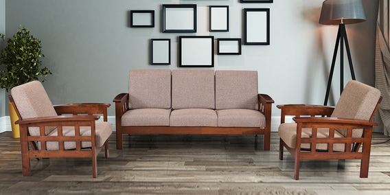 cushion sofa set queen sleeper buy sydney with 3 1 seater by royal oak online traditional sets sofas furniture pepperfry product