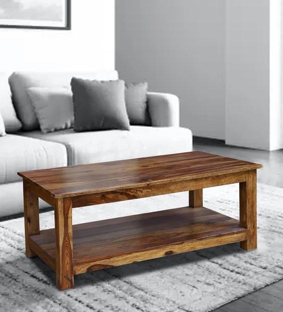 texas center table in honey oak finish