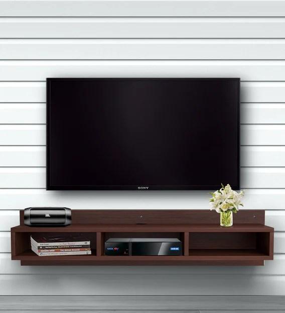 wallmounted tv shelf