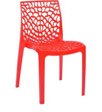 Web Dining Chair in Red Colour by Supreme by Supreme ...