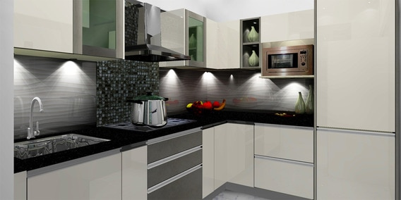 modular kitchen modern island for sale buy white bliss by spacewood online l shaped pepperfry