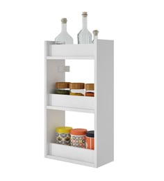 kitchen storage racks mats and rugs organisers rack online at best prices pepperfry brv 3 shelves