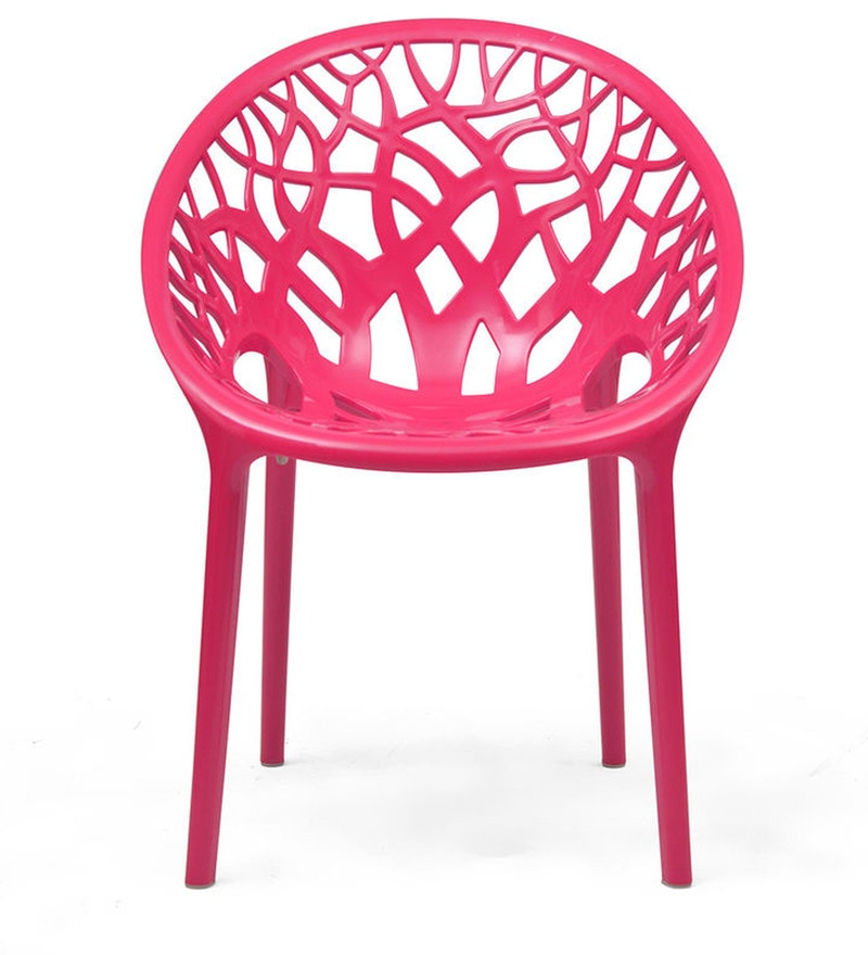 chair swings bedroom cover hire watford buy crystal designer in pink colour by nilkamal online - plastic chairs pepperfry