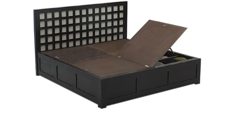 Fern Modified Storage King Bed By Godrej Interio By Godrej