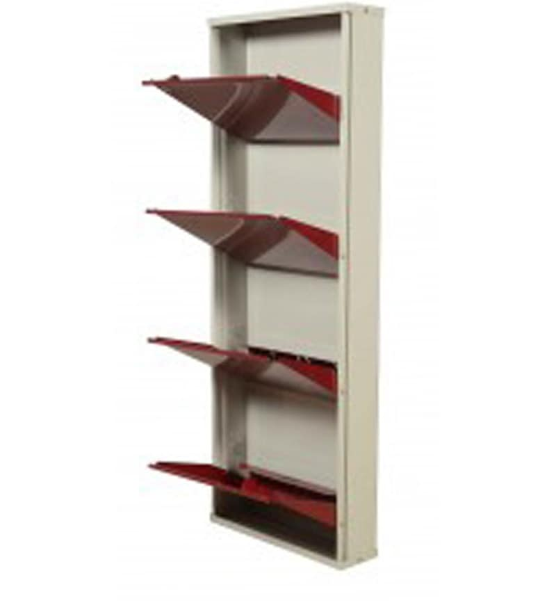 sofa manufacturing companies in india small bed singapore buy colombo metallic four door shoe rack maroon colour ...