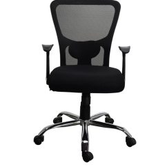 Ergonomic Mesh Chair From Emperor Office Neck Pillow High Back Posture Adelaide 24 Hr Buy Jazz In Black Colour By Online