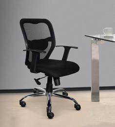 office chair online rocking recliner buy ergonomic chairs in india at best mid back black colour