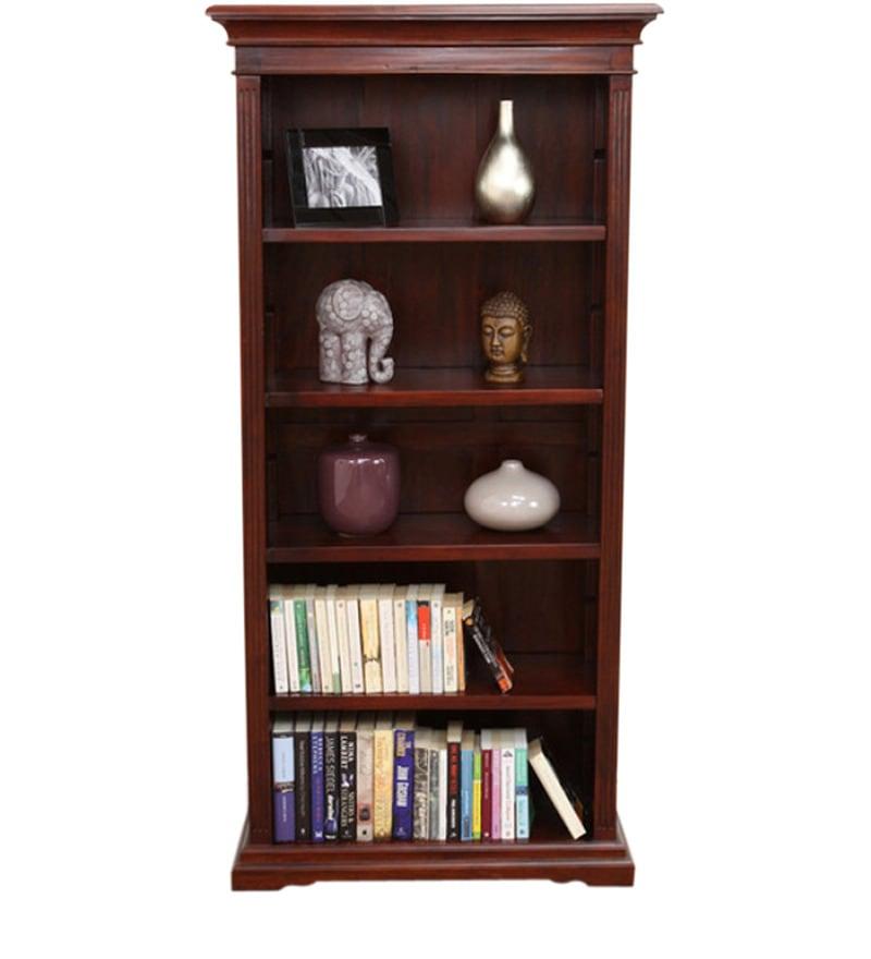 Sheesham Wood Book Shelf by Mudramark Online
