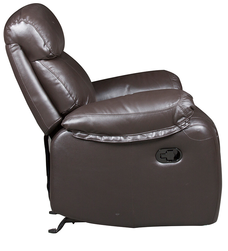 one and half seater sofa modular sofas cheap buy leather manual recliner rocker in ...