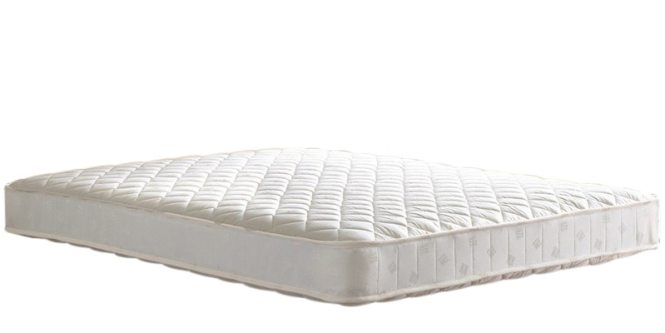 Snuggle King Size 6 Inch Rebonded Foam With Latex Mattress By Sleep Innovation