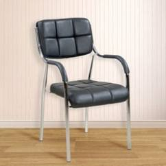 Steel Chair Buyers In India Kids Pedicure Office Furniture Buy Modern Online At Star Visitor Metal Black Colour