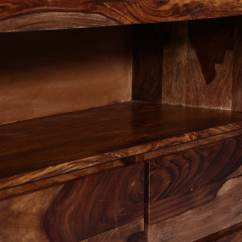 Tv Unit Designs In Living Room Coastal Inspired Rooms Buy Stanwood Entertainment Warm Walnut Finish By ...