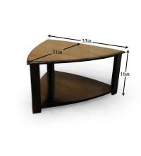 Triangular Coffee Table by Mudramark Online - Contemporary ...