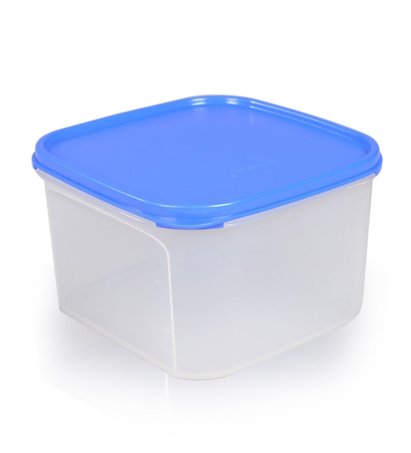 square kitchen table sets sunflower accessories buy tupperware modular mate blue 2600 ml storage ...