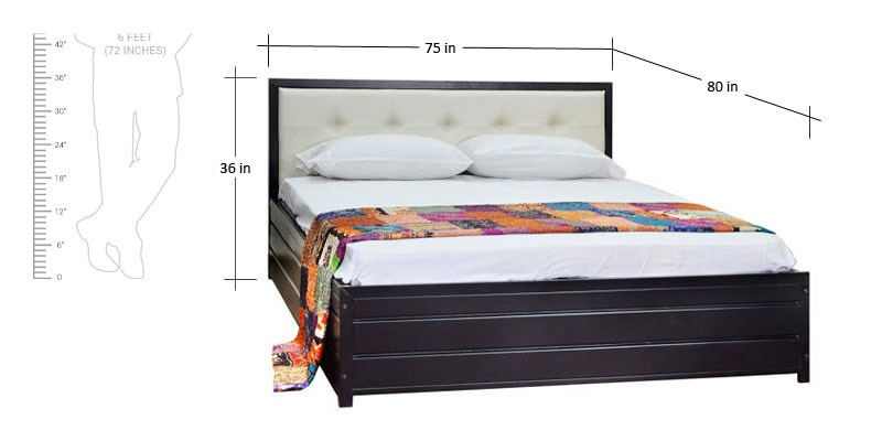sofa manufacturing companies in india how to make paper step by buy shanghai king size bed with storage black finish ...
