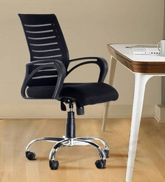 best ergonomic chairs in india tank chair wheelchair office online buy at boom high back black colour