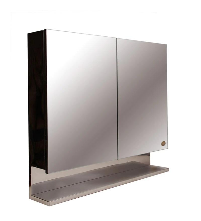 Buy Cipla Plast Double Door Stainless Steel Bathroom