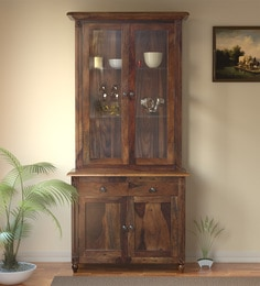 buy kitchen cabinets farmhouse for sale online in india best louis solid wood hutch cabinet provincial teak finish