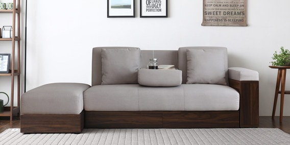l shape sofa set designs in delhi barcelona cube black and vanilla cum beds buy online india at best prices luana storage bed with ottoman beige color