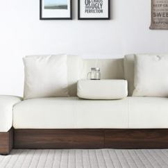 Living Room Furniture With Storage Arrangement Tv Sofa Cum Beds Buy Online In India At Best Prices Luana Bed Ottoman White Color